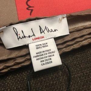 Richard Allen Accessories - NWT RICHARD ALLEN Ava Geometric Silk Scarf